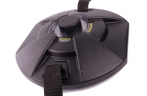 Металлоискатель СФИНКС ВМ-901 ПРО для определения местоположения и глубины залегания подземных коммуникаций. Прибор имеет возможность тонкой настройки, с помощью которой люк колодца определяется на расстоянии до 120 см
