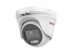 "HiWatch DS-T203L 2Мп уличная купольная HD-TVI камера с LED-подсветкой до 20м и технологией ColorVu 1/3"" CMOS; 0.001 Лк; DWDR, HLC, 3D DNR; IP66; -40°С до +60°С; 12В DC±25%, 2,4Вт макс."