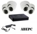Liteview LVDR-2104E AHD видеорегистратор AHD 1080H (960x1080), 4 канальный, аудио 4/1. Подключение  видеокамер AHD-H / AHD-M или IP или обычных аналоговых