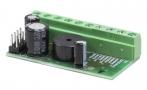 К-1У Автономный универсальный контроллер СКУД, iButton, Wiegand 26/34/37/40/42, 1216 ключей, звук и свет индикация, макс ток 4А, 50x25.5x16 мм, 12VDC, защита от неправильного подключения